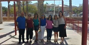 Els pressupostos participatius permeten la instal·lació d'una pèrgola en el col·legi Mediterrani