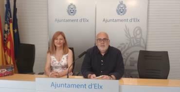 """Elx celebra el """"Día del Rocío"""" amb la tradicional Romeria i el """"Rosari de l'Aurora"""""""