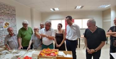 CCOO entrega 15.000 fichas de afiliación a la Cátedra Pedro Ibarra de la UMH para un estudio