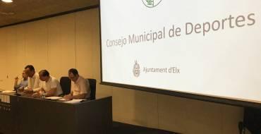 Constituido el Consejo Municipal de Deportes