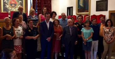 L'Ajuntament homenatja les primeres dones policia d'Elx en el 45é aniversari de la seua incorporació