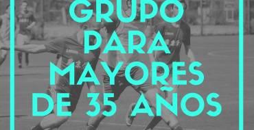 Nuevo grupo de competición en la Liga Local de Fútbol 7 Senior para mayores de 35 años