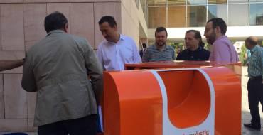 El Ayuntamiento instala contenedores de recogida selectiva de aceite doméstico en el casco urbano y las pedanías