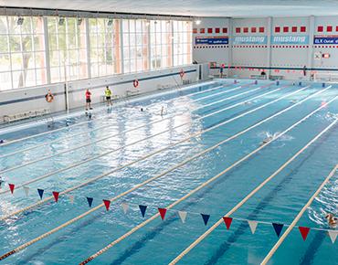 Cierre de temporada en la piscina cubierta del Pabellón Esperanza Lag