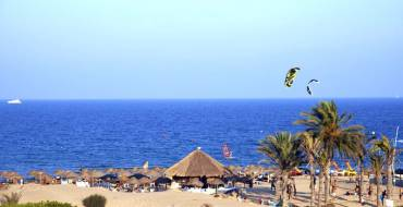 Activitats esportives en les platges d'Elx.