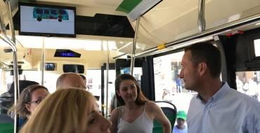 """L'Ajuntament d'Elx renova la flota d'autobusos urbans amb  sis nous vehicles """"més nets,  còmodes, segurs i accessibles"""""""