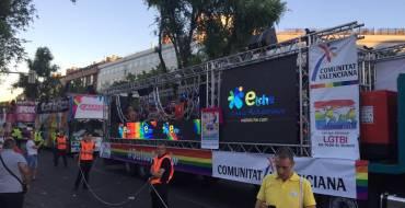 Elche participa por primera vez en el #gaypride2017 de Hamburgo a través de Visitelche