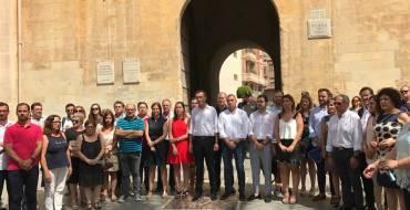 El Ayuntamiento de Elche rinde homenaje a Miguel Ángel Blanco y a todas las víctimas del terrorismo