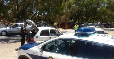 Detención de un individuo en busca y captura tras huir de control policial