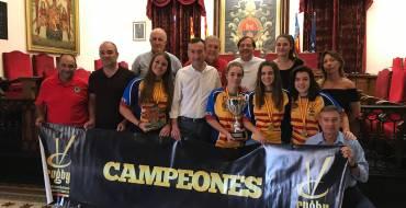 Recepción en el Ayuntamiento a la Selección Femenina Valenciana de Rugby Sub-18