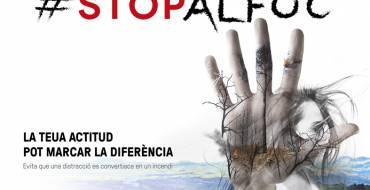 El Ayuntamiento se suma a la campaña de la Generalitat para evitar los incendios forestales