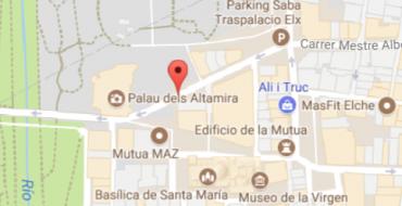Corte calle Diagonal del Palau