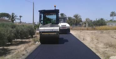 Un total de 390.000 euros para el asfaltado de caminos y calles durante el año 2017