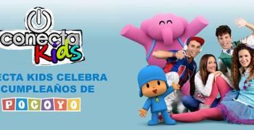 «Conecta Kids celebra el cumpleaños de Pocoyó»