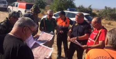 Policía Local imparte curso de rastreo y búsqueda de personas desaparecidas en el medio rural a asociación de veteranos boinas verdes
