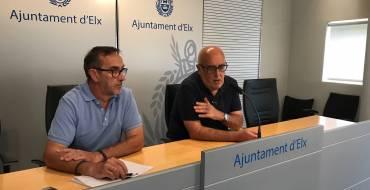 L'Ajuntament d'Elx reforça la seguretat en mercats i zones de gran afluència de persones