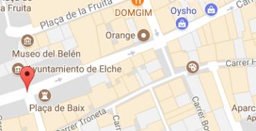 Cortes de calles lunes 7 de agosto en Elche