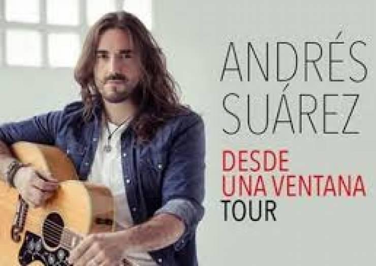 "Andrés Suárez presenta ""Desde una Ventana Tour"""