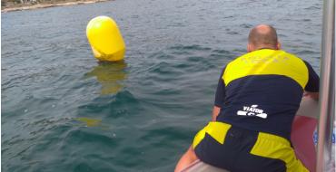 Unidad Marítima rescata a nadador desaparecido en Santa Pola
