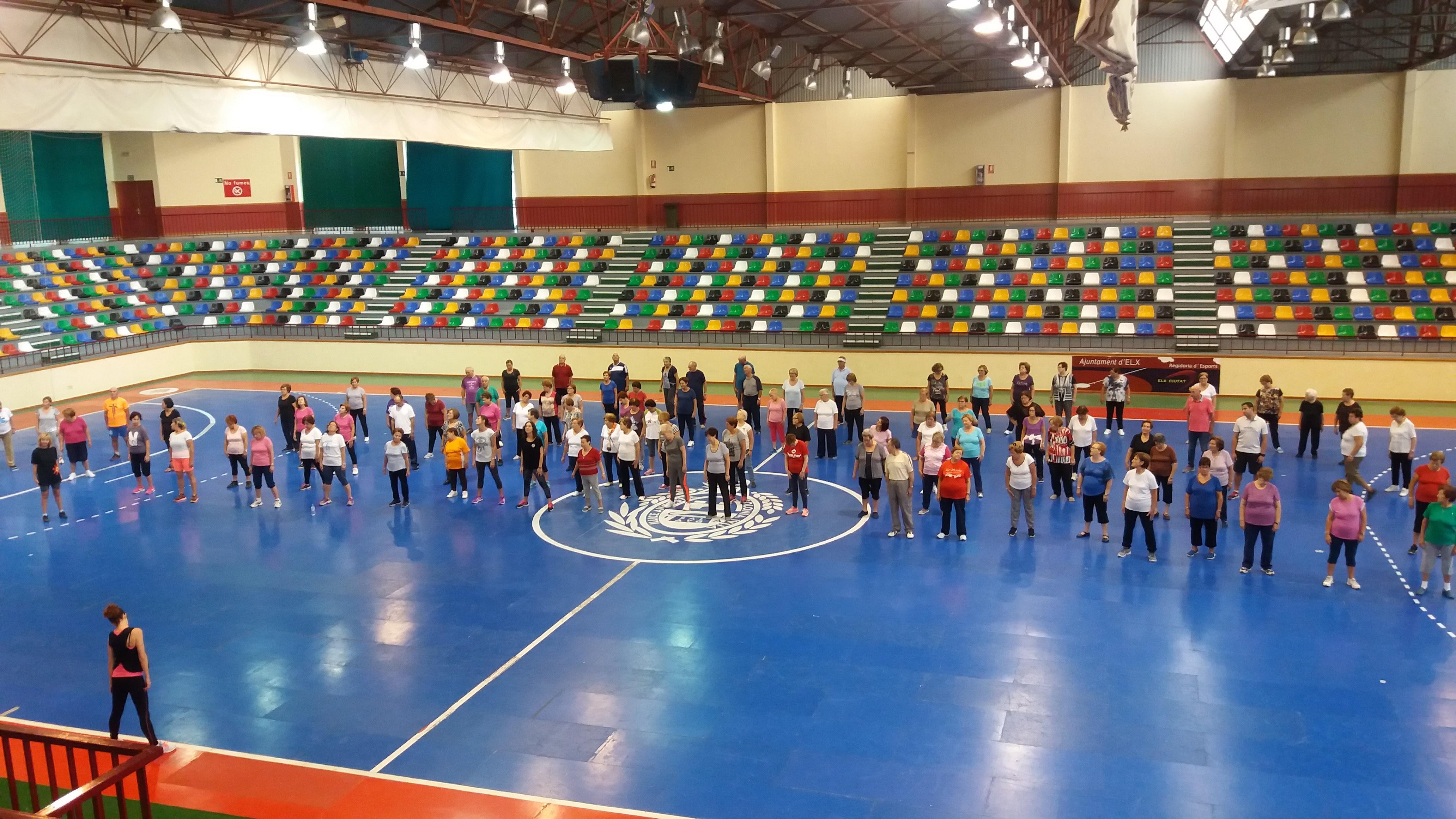 Inscripciones al programa de gimnasia de mantenimiento for Piscinas municipales elche