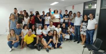 El Ayuntamiento entrega los diplomas a los usuarios que han participado en el Respiro Familiar