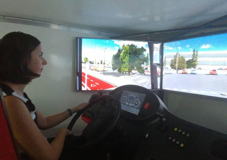Simuladores para concienciar y mejorar la seguridad de conducción de los autobuses urbanos