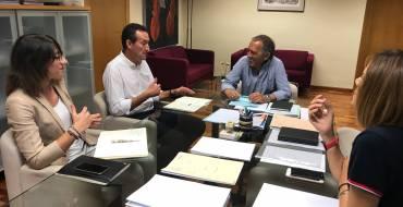 El alcalde obtiene el compromiso de la Generalitat de que las obras educativas pendientes comenzarán el próximo año