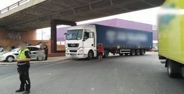 Interceptado camionero tras haber consumido cocaína y duplicar tiempos de conducción