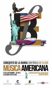 Banda sinfónica de Elche- Música Americana