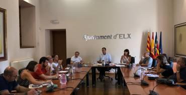 El Gobierno plural de Elche fija las coordenadas de trabajo para el próximo curso político