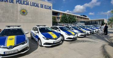 La Policía Local incorpora a su flota móvil 15 nuevos vehículos