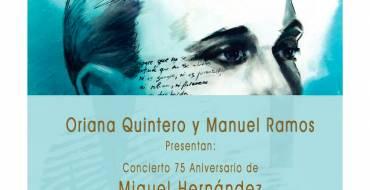 """El centro cultural Las Clarisas acoge la presentación del disco de Manuel Ramos """"Miguel Hernández Romántico"""""""