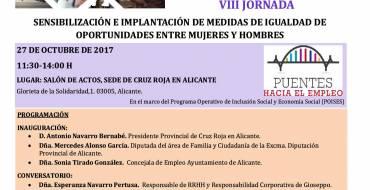 VIII Jornada sensibilización e implantación de medidas de igualdad de oportunidades entre mujeres y hombres