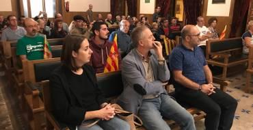 El salón de plenos acoge el Correllengua 2017
