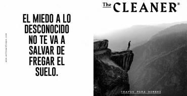 """The Cleaner: una """"nueva"""" marca de trapos exclusiva para hombres que quiere concienciar sobre la desigualdad de género en las tareas del hogar"""