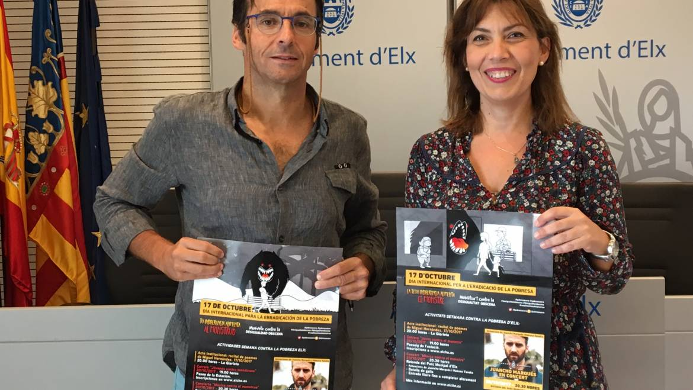 El Ayuntamiento de Elche se suma a la lucha contra la pobreza