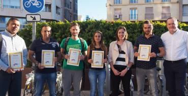 Entrega de premios «Bici Elx més»