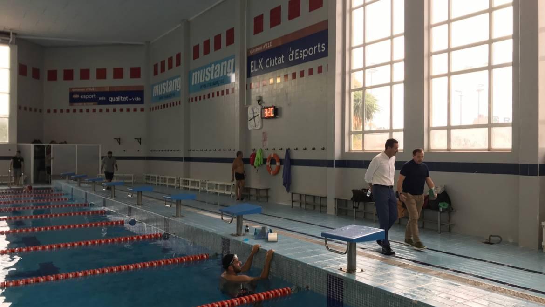 Deportes invierte más de 122.000 euros en mejoras de la piscina cubierta del pabellón Esperanza Lag