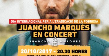 """Concierto """"Música contra el monstruo"""" Juancho Marqués"""