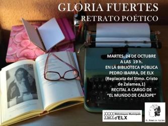 Recital Gloria claustro