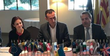 El alcalde y la concejala de Hacienda en el Rotary Club de Elche