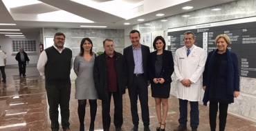 La consellera de Sanitat anuncia la remodelació integral de la cinquena planta de l'Hospital General i el bloc quirúrgic