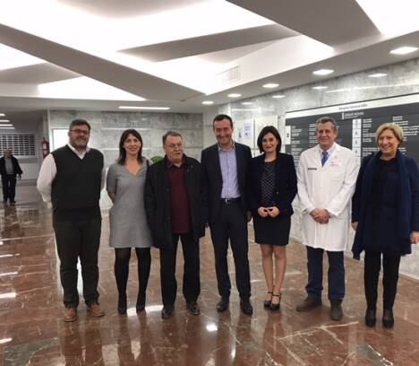 La consellera de Sanidad anuncia la remodelación integral de la quinta planta del Hospital General y el bloque quirúrgico