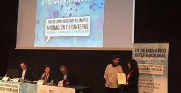 """El alcalde y la concejala de Comunicación participan en la entrega de los premios de periodismo """"Pepe Andreu"""" y """"Ricardo Ortega"""""""
