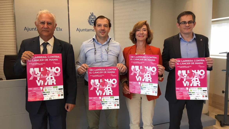 Presentación de la XIII Carrera contra el cáncer de mama