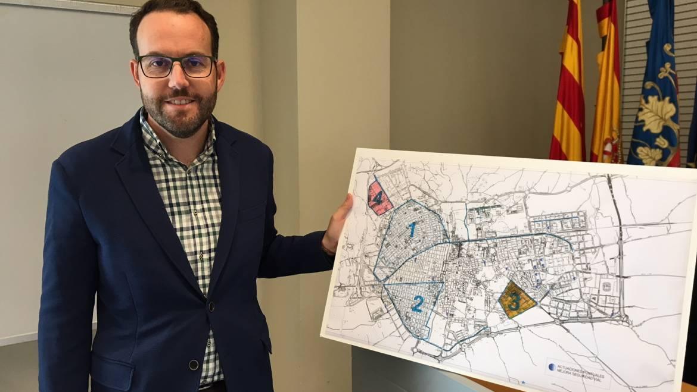 L'Ajuntament realitza la major inversió en sis anys per a millorar la senyalització horitzontal en barris i pedanies