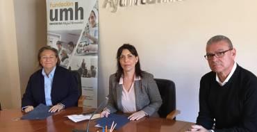 Firma convenio de colaboración Ayuntamiento – FUMH