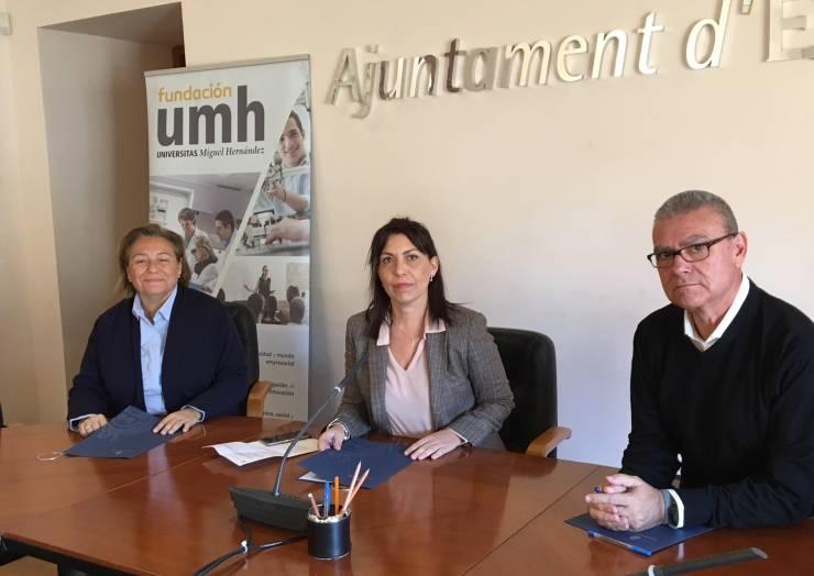 Firma conveni de col·laboració Ajuntament – FUMH