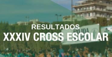 Resultats XXXIV Cross Escolar