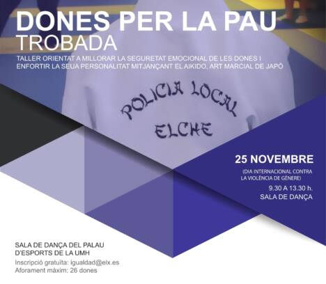 Trobada de Dones per la Pau-25 Novembre